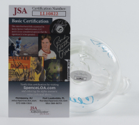Cheech Marin & Tommy Chong Signed Glass Tobacco Water Pipe (JSA COA) at PristineAuction.com