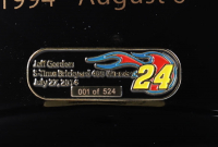 Jeff Gordon Signed Rare NASCAR Axalta Brickyard 400 Win Full-Size Helmet #1/524 (1/1) (Gordon Hologram) at PristineAuction.com