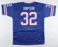 "O.J. Simpson Signed Jersey Inscribed ""Bills Mafia"" (JSA COA) at PristineAuction.com"