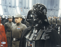 """David Prowse Signed """"Star Wars"""" 11x14 Photo Inscribed """"Darth Vader"""" (Beckett COA) at PristineAuction.com"""