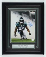 Brian Dawkins Signed Eagles 13.5x16.5 Custom Framed Photo Display (JSA COA) at PristineAuction.com