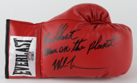 "Mike Tyson Signed Everlast Boxing Glove Inscribed ""Baddest Man on the Planet"" (Fiterman Sports Hologram) at PristineAuction.com"