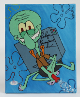 Rodger Bumpass Signed 8x10 Canvas Painting (PSA COA) at PristineAuction.com