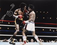 Sugar Ray Leonard Signed 11x14 Photo (Beckett COA) at PristineAuction.com