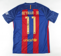 Neymar Signed FC Barcelona Jersey (PSA COA) at PristineAuction.com