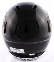Lamar Jackson Signed Ravens Full-Size Speed Helmet (JSA COA) at PristineAuction.com