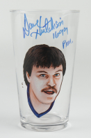 "Dave Hutchison Signed Glass Cup Inscribed ""1699 PIM"" (PSA COA) at PristineAuction.com"