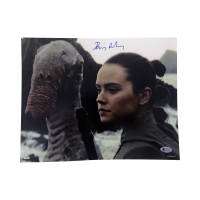 "Daisy Ridley Signed ""Star Wars: The Last Jedi"" 11x14 Photo (Beckett COA) at PristineAuction.com"