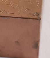 """10 Ten Pounds .999 Fine Copper """"Periodic Table"""" Bullion Bar at PristineAuction.com"""