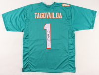 Tua Tagovailoa Signed Jersey (Beckett COA) at PristineAuction.com
