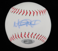 Mitch Moreland Signed OL Baseball (Beckett COA) at PristineAuction.com