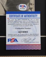 Willie Mays & John Roseboro Signed Giants 14x19 Custom Framed Photo Display (PSA COA) at PristineAuction.com