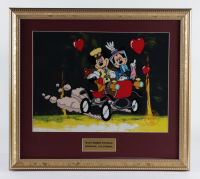 "Walt Disney's LE ""Nifty Nineties"" 16x18 Custom Framed (2) Piece Animation Cel with Disney Seal at PristineAuction.com"