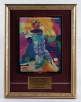 Reggie Jackson Signed 1993 14x18 Custom Framed LeRoy Neiman Hall of Fame Induction Art Cover Display (PSA COA) at PristineAuction.com