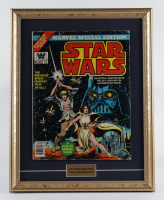 """1977 """"Marvel Special Edition: Star Wars"""" Issue #1 Marvel 15x19 Custom Framed First Issue Comic Book Display at PristineAuction.com"""