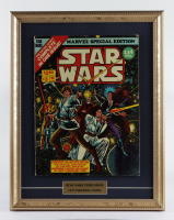 "1977 ""Marvel Special Edition: Star Wars"" Issue #3 Marvel 15x19 Custom Framed First Issue Comic Book Display at PristineAuction.com"