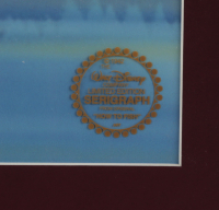 """Walt Disney's Goofy """"How to Fish"""" 16x18 Custom Framed (2) Piece Animation Cel with Disney Seal at PristineAuction.com"""