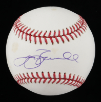Jeff Bagwell Signed OML Baseball (Beckett COA & TriStar Hologram) (See Description) at PristineAuction.com