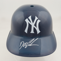 "Dwight ""Doc"" Gooden Signed Yankees Souvenir Batting Helmet (Schwartz COA) at PristineAuction.com"