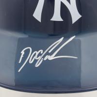 "Dwight ""Doc"" Gooden Signed Yankees Souvenir Batting Helmet (Schwartz COA) at PristineAuction.com"