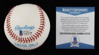 Fred Lynn Signed OAL Baseball (Beckett COA) at PristineAuction.com