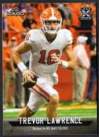 Trevor Lawrence 2021 Leaf iCard #LI16 at PristineAuction.com