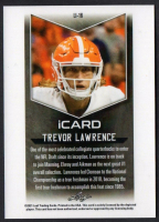 Trevor Lawrence 2021 Leaf iCard #LI16 at PristineAuction.com