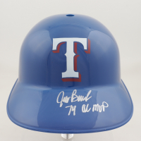 "Jeff Burroughs Signed Rangers Full-Size Batting Helmet Inscribed ""74 AL MVP"" (Schwartz COA) at PristineAuction.com"