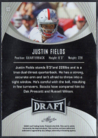 Justin Fields 2021 Leaf Draft #2 at PristineAuction.com