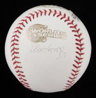 Jose Contreras Signed 2005 World Series Baseball (Beckett COA & Steiner Hologram) at PristineAuction.com