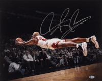 Dennis Rodman Signed Bulls 16x20 Photo (Beckett COA) (See Description) at PristineAuction.com