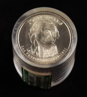 Roll of (12) Uncirculated John Adams Presidential Dollars at PristineAuction.com