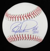 """Barry Larkin Signed OML Baseball Inscribed """"HOF 2012"""" (JSA Hologram) at PristineAuction.com"""