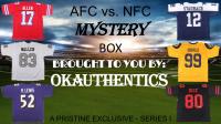 OKAUTHENTICS Football AFC vs. NFC Jersey Mystery Box - Series I at PristineAuction.com