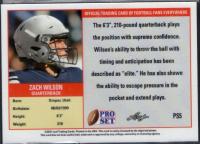 Zach Wilson 2021 Leaf Pro Set #PS5 at PristineAuction.com