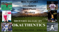 OKAUTHENTICS Multi-Sport & Celebrity 8x10 Photo Mystery Box Series VIII at PristineAuction.com