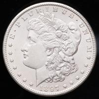 1897-S Morgan Silver Dollar at PristineAuction.com