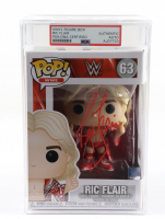 Ric Flair Signed WWE #63 Funko Pop! Vinyl Figure (PSA Encapsulated) at PristineAuction.com