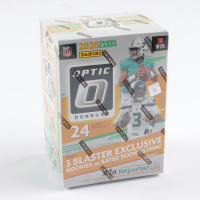 2020 Donruss Optic Football Blaster Box with (6) Packs at PristineAuction.com
