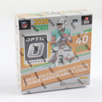 2020 Donruss Optic Football Mega Box with (10) Packs at PristineAuction.com