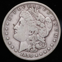 1899-S Morgan Silver Dollar at PristineAuction.com
