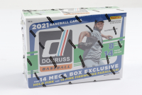2021 Panini Donruss Baseball Mega Box with (14) Packs at PristineAuction.com
