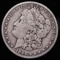 1899-S Morgan Silver Dollar at PristineAuction.com