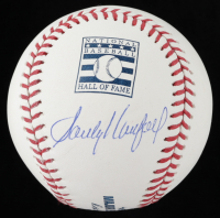 Sandy Koufax Signed OML Hall of Fame Baseball (Beckett LOA & Online Authentics COA) at PristineAuction.com