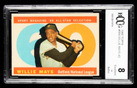 1960 Topps #564 Willie Mays AS (BCCG 8) at PristineAuction.com
