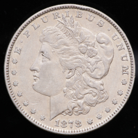 1878 Morgan Silver Dollar Seven Tailfeathers Reverse of 79 at PristineAuction.com