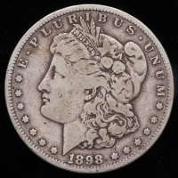 1898-S Morgan Silver Dollar at PristineAuction.com