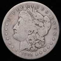 1885-S Morgan Silver Dollar at PristineAuction.com