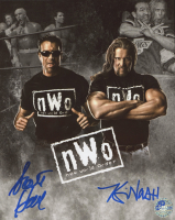 Kevin Nash & Scott Hall Signed WWE 8x10 Photo (Pro Player Hologram) at PristineAuction.com