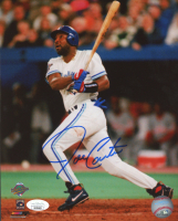 Joe Carter Signed Blue Jays 8x10 Photo (JSA COA) at PristineAuction.com